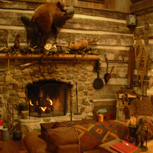 Cozy up to a romantic stay in the countryside at Dull's Christmas Tree Farm in Thorntown, IN.
