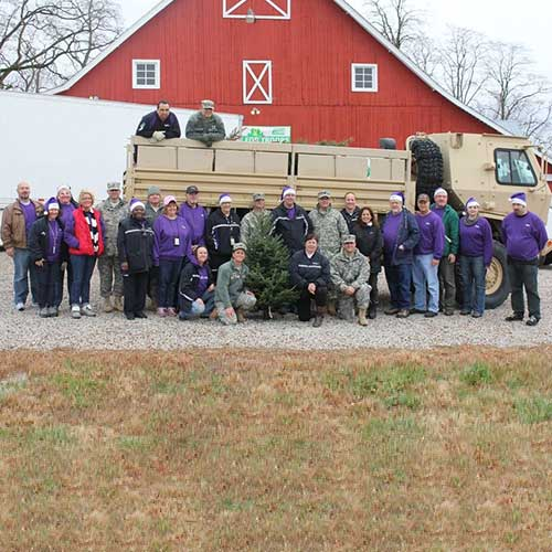 Trees For Troops At Dull S Tree Farm Amp Pumpkin Patch In