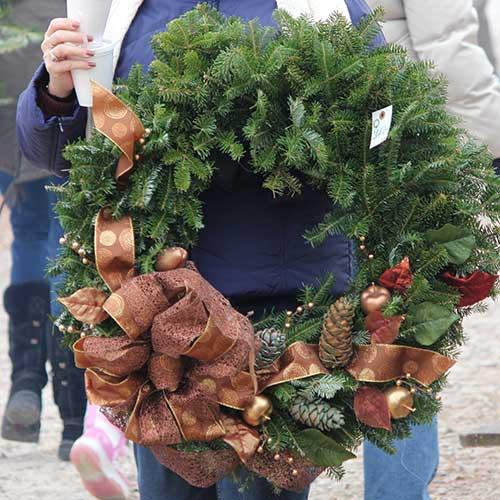 Amazing Handmade Fresh Cut Wreaths From Dullu0027s Tree Farm U0026 Pumpkin Patch In  Thorntown, Indiana Ideas