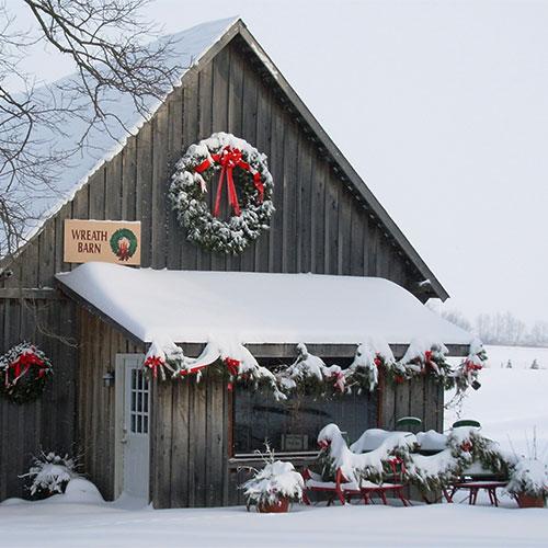 Handmade Fresh Cut Wreaths From Dullu0027s Tree Farm U0026 Pumpkin Patch In  Thorntown, Indiana